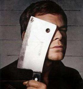 Dexter, serial killer, TV binge watching, violence on TV