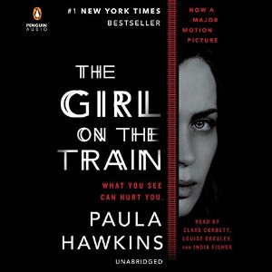 The Girl on the Train Audible Cover